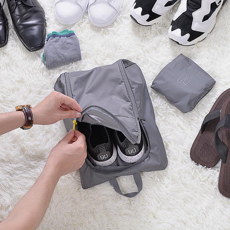 90分旅行收纳袋 套装内衣衣服整理分装旅游洗漱包 鞋子收纳包