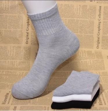 男士袜子中筒袜四季足浴棉袜夏天学生运动短袜地摊船袜批发包邮