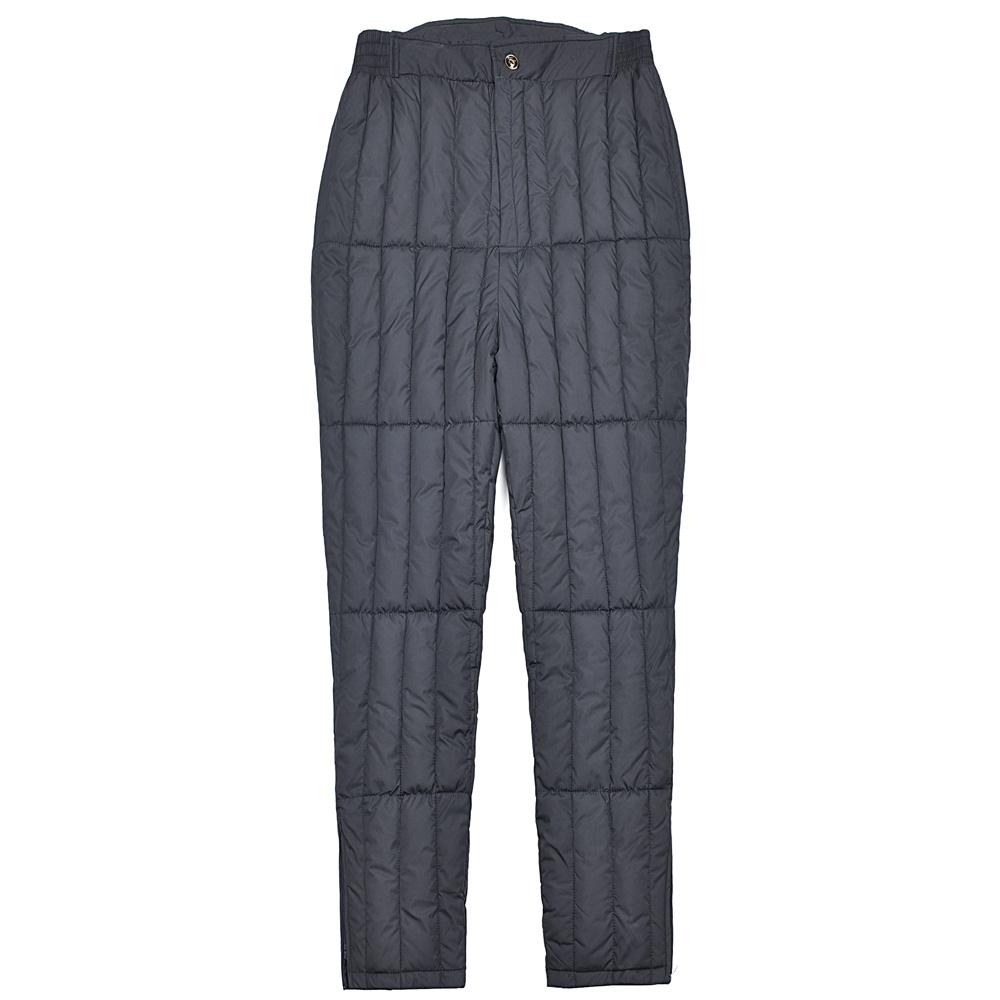 羽绒棉裤男士中老年爸爸冬季防寒抗风保暖裤子加肥加大款内胆棉裤