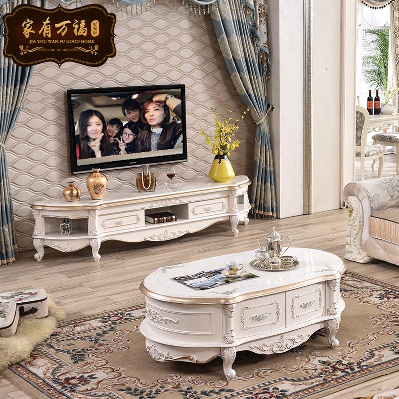 欧式家具茶几圆形