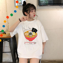 Short-sleeved T-shirts Loose Summer Retro Hong Kong Girls with Ancient Sensibility and Smaller People Design Elegant Wind Clothes