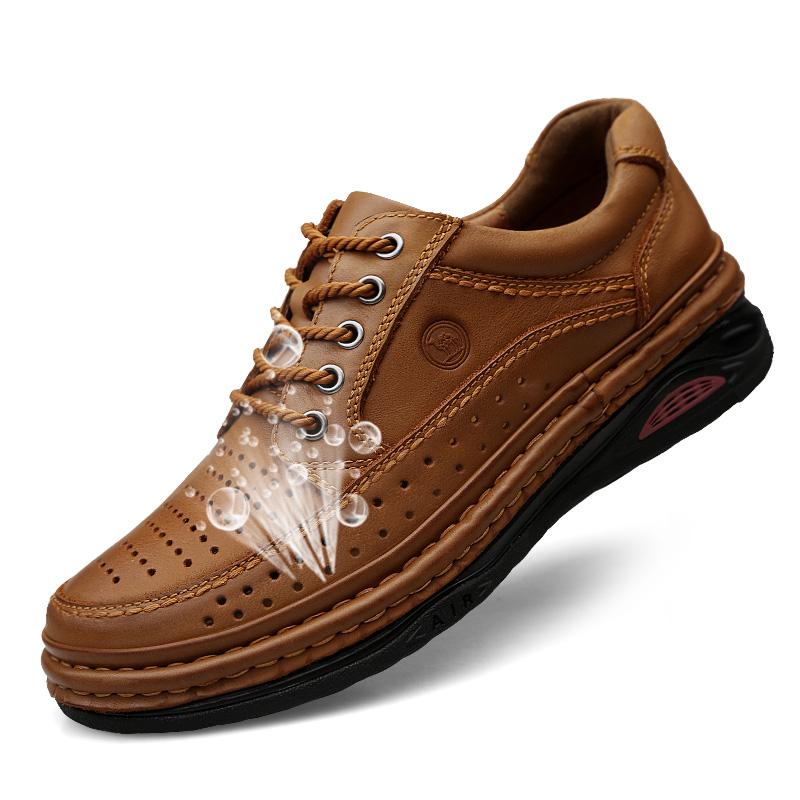 骆驼手工皮鞋