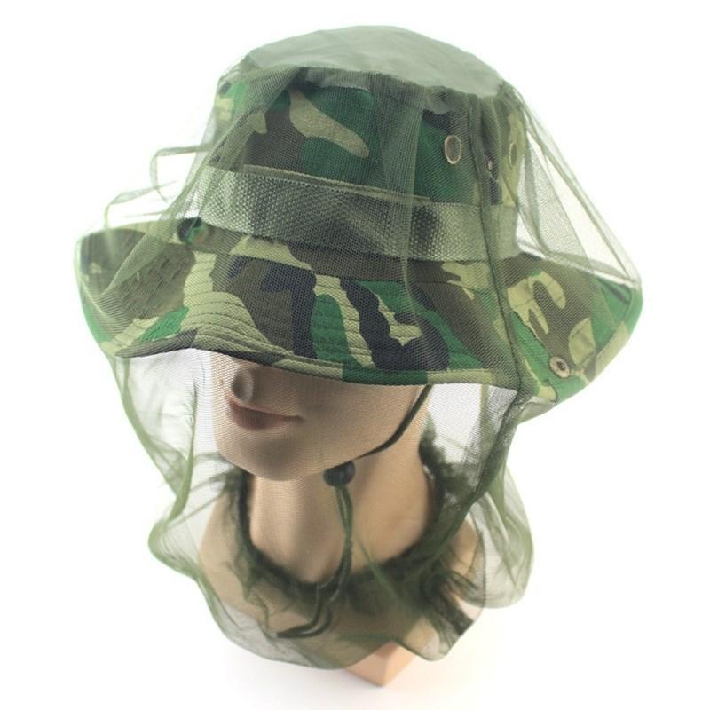 防面纱户外防纱网帽头套睡觉用钓鱼防蚊防晒透气夏季蚊虫面罩