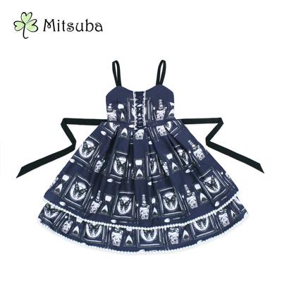 【现货开售】三叶亭Mitsuba 原创设计 宝石收藏品lolita连衣裙jsk