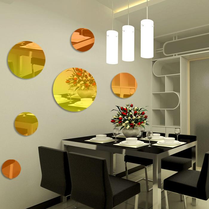 墙贴客厅圆形