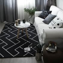 摄影棚床边地摊地垫儿童房北欧中式榻榻米风格地毯毯卧室小桌子阳
