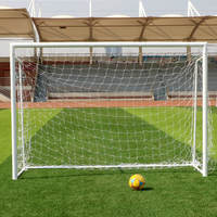 Football small goal children home indoor soccer frame gantry soccer goal frame net folding portable five-person system