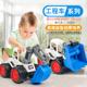 耐摔大号滑行工程车儿童沙滩玩具汽车套装挖土机挖掘机模型车男孩