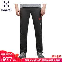 Haglofs火柴棍男款户外防风防拨水带腰带软壳长裤603108 欧版