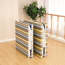 午睡床单人床木板床简易便携折叠床午休加固大人儿童床成人床两折
