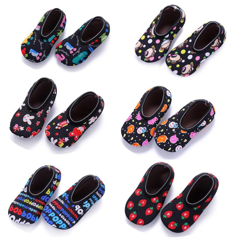 早教兒童地板襪套室內空調鞋套男女寶寶防滑襪套步鞋襪子春秋冬季圖片