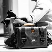 dpark相机包单反微单专业便携防水帆布单肩佳能700d尼康摄影包