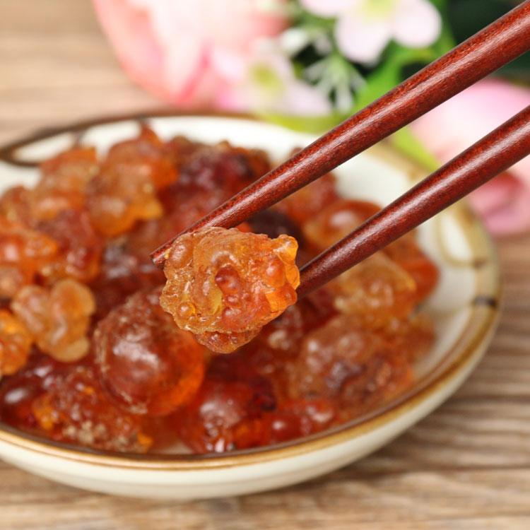贵州特产野生食用头期桃胶干货胶原蛋白银耳皂角米雪燕搭配桃花泪