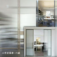 Changhong stripe embossed glass can tempered three-dimensional art glass - screen partition bathroom kitchen doors and windows - custom
