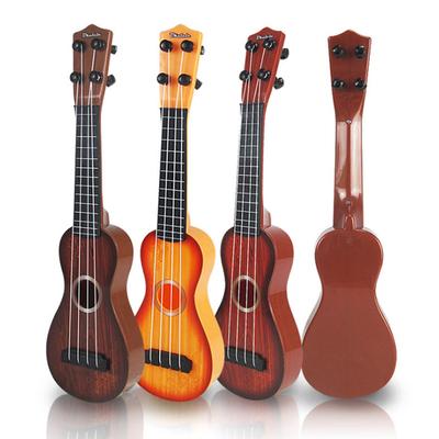 可弹奏仿真启蒙尤克里里男女孩迷你水果吉他玩具儿童早教音乐乐器