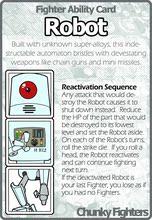 策略游戏定制 贴纸 Chunky 格斗战士29机器人 Fighters 桌游驿站