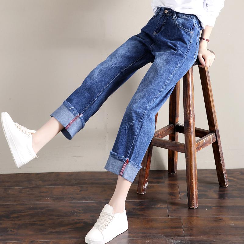 女仔裤女春款高腰