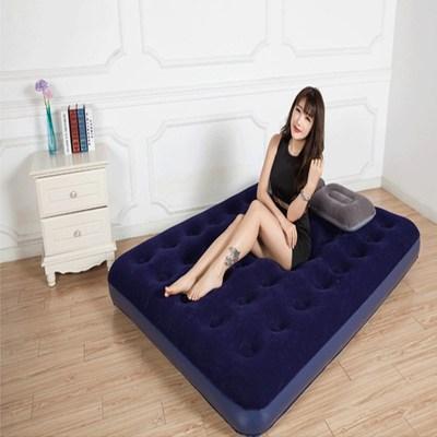 床单人加厚充气床垫 双人家用折叠床 户外便携气垫床舒适奇 充气哪个牌子好