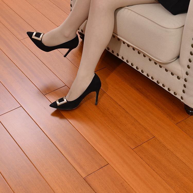 柚木地板地暖