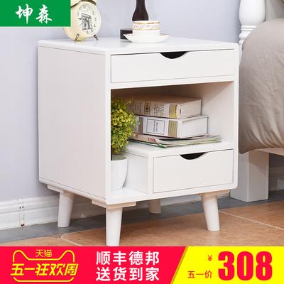 实木床头柜白色有假货吗