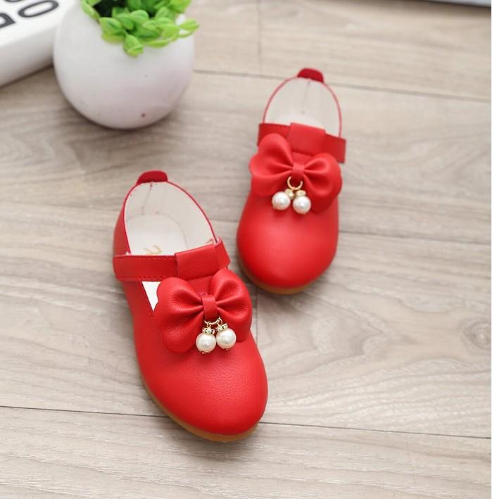 12岁女童皮鞋公主鞋
