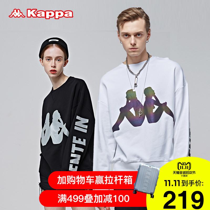 Kappa卡帕情侣男女卫衣圆领长袖运动服宽松2018新品|K08Y2WT66D