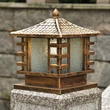 别墅围墙灯柱头灯庭院太阳能灯大门灯户外防水门柱灯墙头灯工程灯