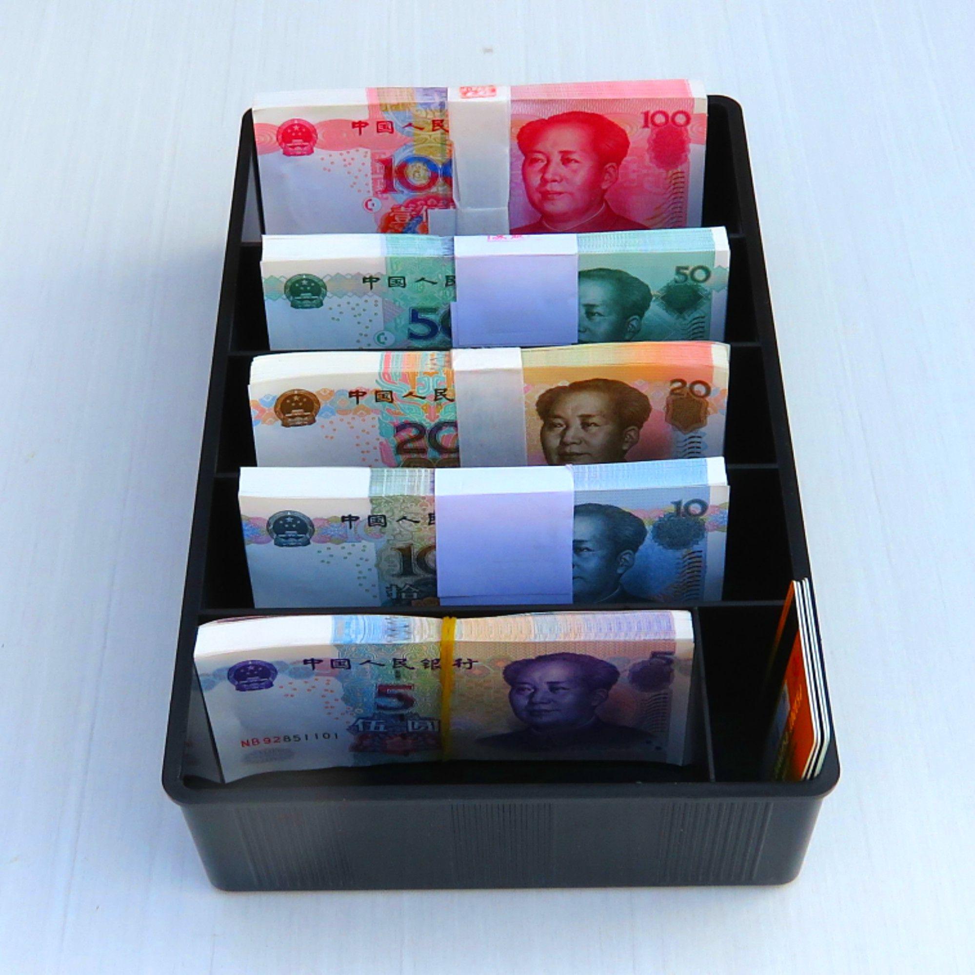 有家盒子箱超市收纳盒收银箱文创/其他文化用品有好货六格零钱