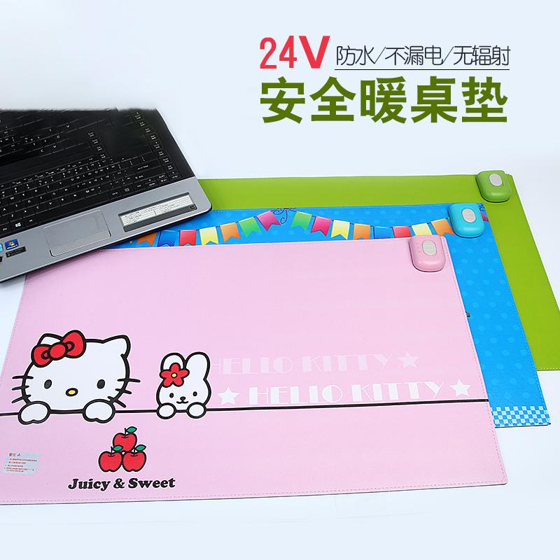 办公室鼠标加热保暖桌学生电脑加热垫暖手电热板桌面发热板写字台