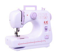 Jiayi 605 household sewing machine small desktop multi-function electric sewing edge to eat thick reversing manual sewing machine