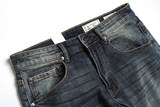 American high-end old Ami 咔叽 retro cotton washed loose small straight leg jeans trousers male