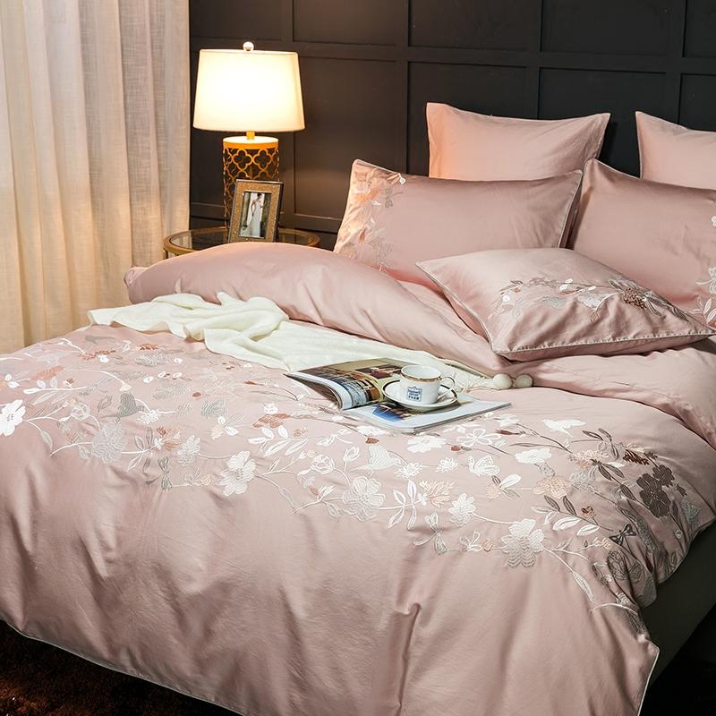 高档床上用品纯棉贡缎