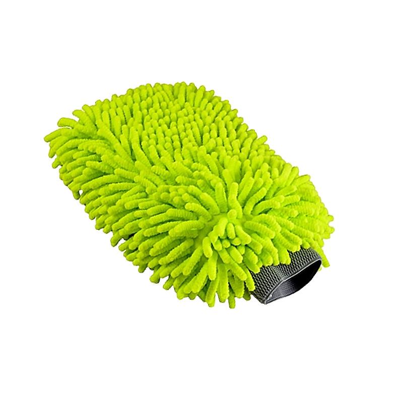 化学小子洗车手套系列三合一/加厚纤维 双面防水擦车专用不伤车漆
