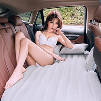 Car Inflatable Bed Car Accessories Rear Travel Bed Car SUV Adult Sleeper Rear Seat Bed Car Bed