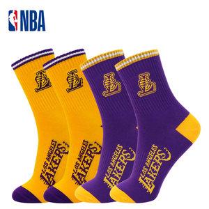 NBA篮球袜子男中筒春夏运动高筒长袜勇士火箭湖人欧文詹姆斯哈登