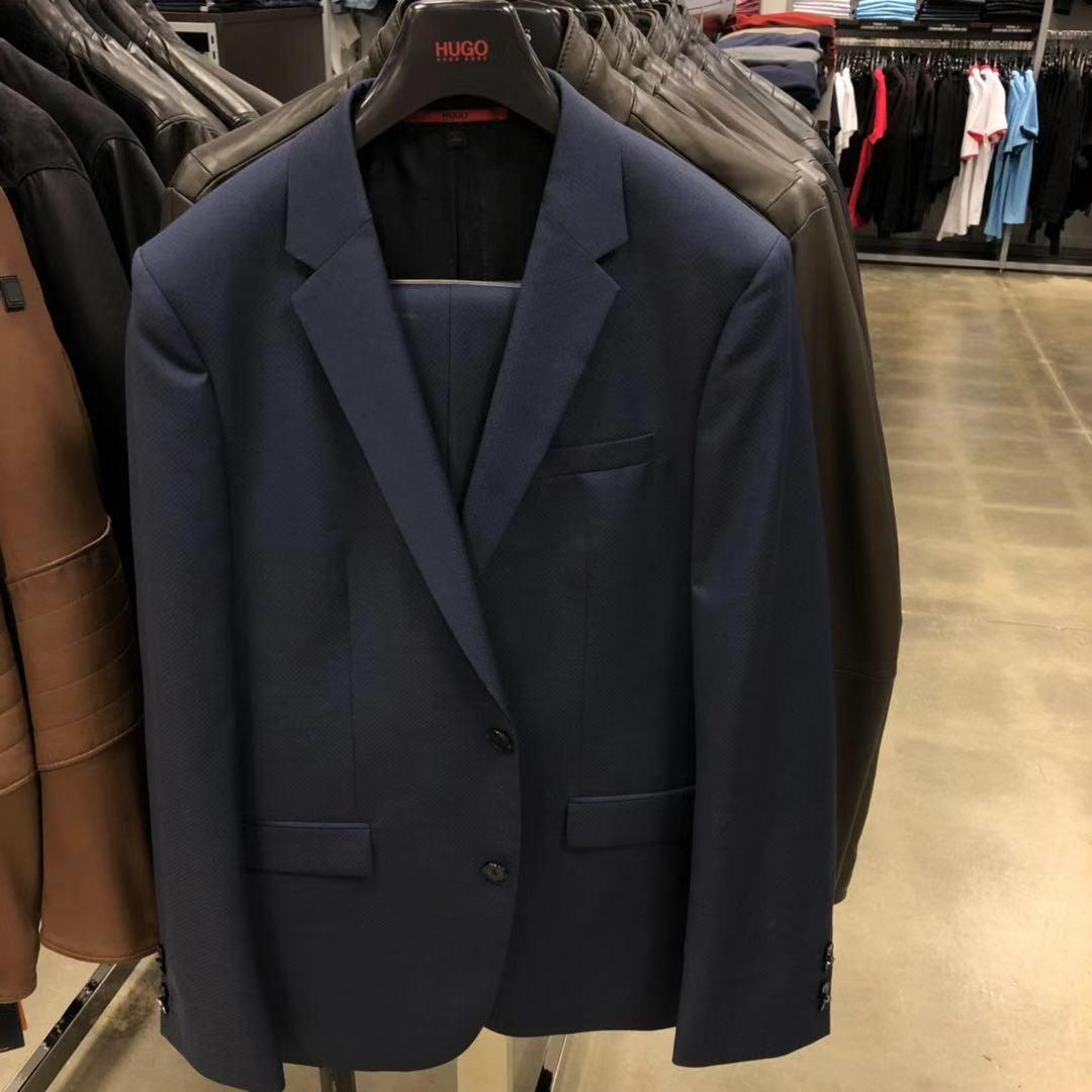 牛X正品 Hugo boss男士休闲商务都市绅士正装西装西服裤子套装