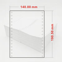 Prescription printing paper Medical 140190mm single-layer hospital printing paper 150190 two triple quadruple
