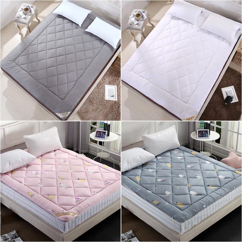 加厚床垫被1.8米床褥子双人全棉花1.5m0.9学生宿舍单人1.2榻榻米