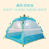 Leisure outdoor travel game house children pull rope tent toy house indoor play house play house toys
