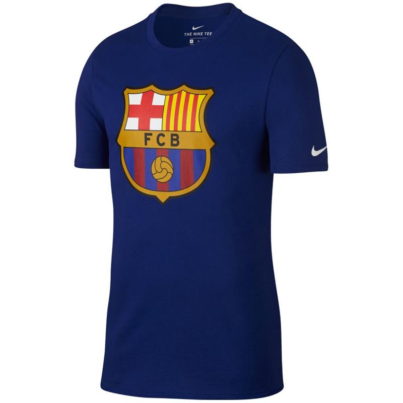 Nike耐克足球服 西甲 巴萨巴塞罗那 FC Barcelona 足球短袖 T恤