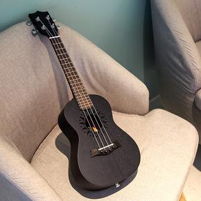 安德鲁尤克里里23寸初学者尤克里里21寸小吉他26寸黑色乌克丽丽