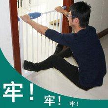 梯口护栏FF婴儿童安全门栏栏隔宠物围栏OOTU护T宝宝楼打孔离免防图片