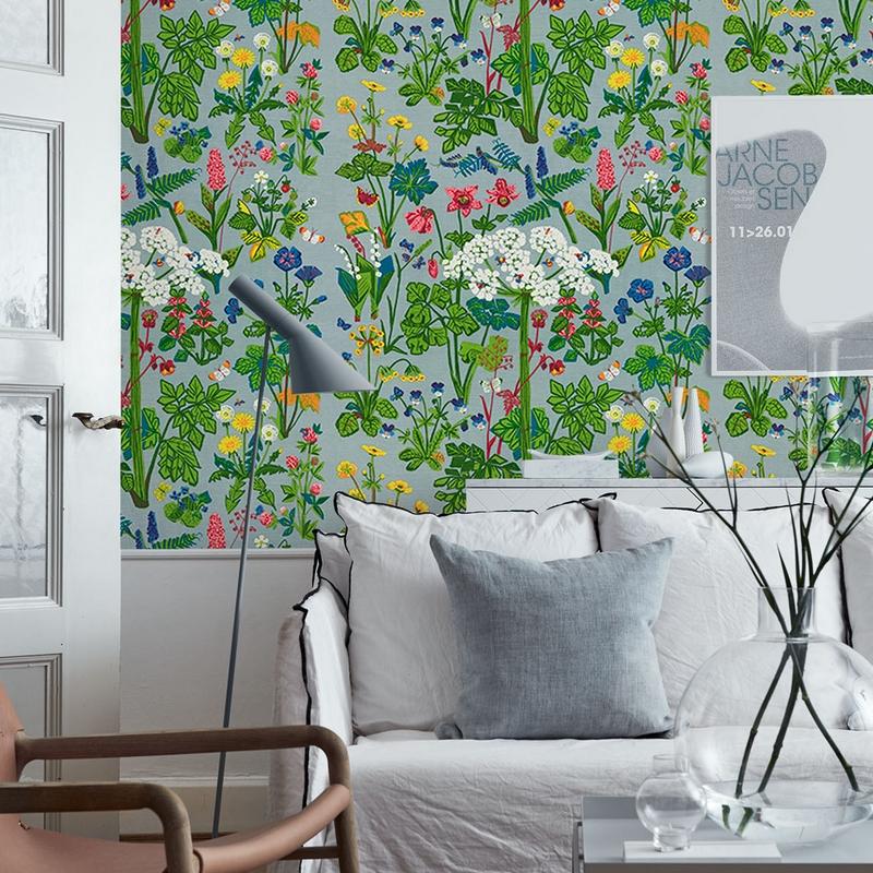 植物纤维墙纸