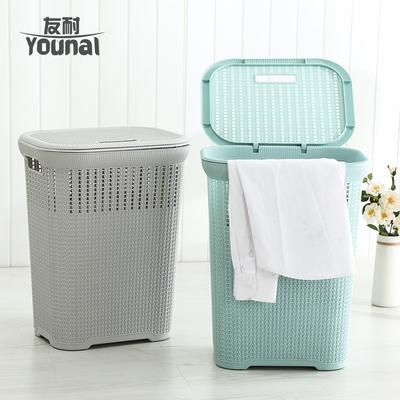仿藤编脏衣篮塑料洗衣篮脏衣服收纳筐家用脏衣篓子卧室玩具收纳桶