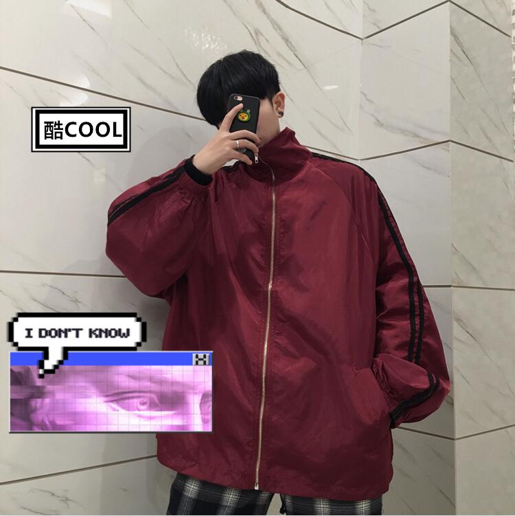 酒红外套韩国