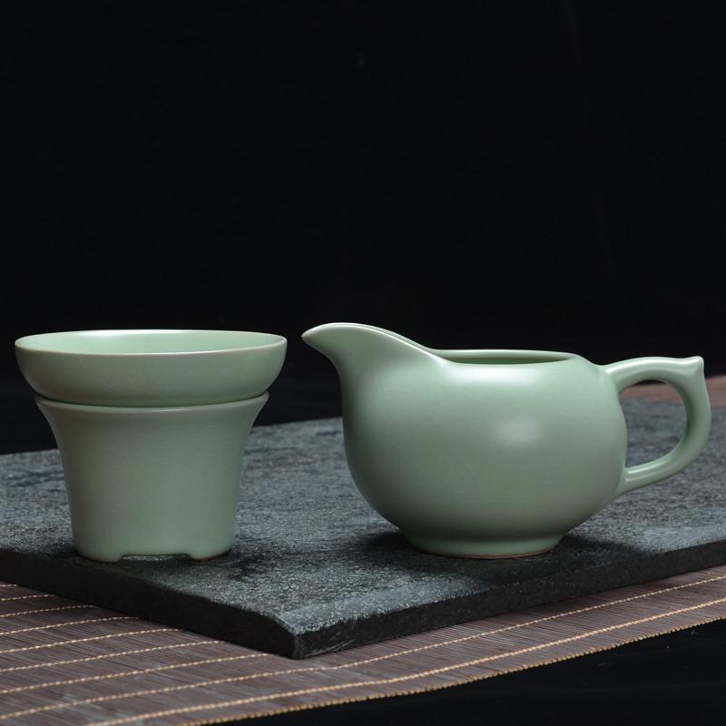 冰裂茶公道杯