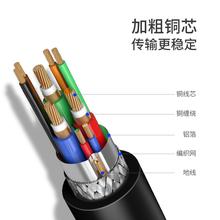 转dvi线笔记本外接显示器屏电脑4K电视网络机顶盒子连接投影仪转换