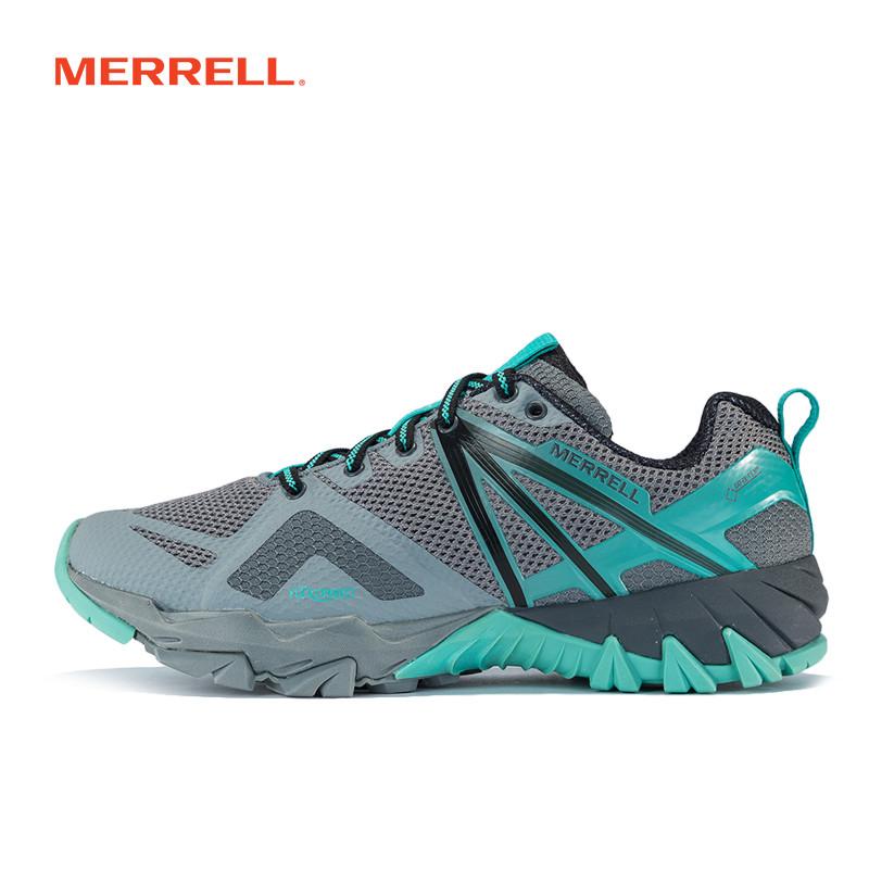 MERRELL迈乐GORE-TEX户外轻装徒步鞋女鞋 减震防水透气灵活J50164