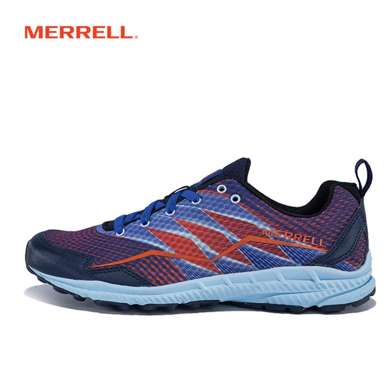 MERRELL迈乐女鞋 越野跑鞋户外鞋 轻便减震耐磨休闲鞋J37372