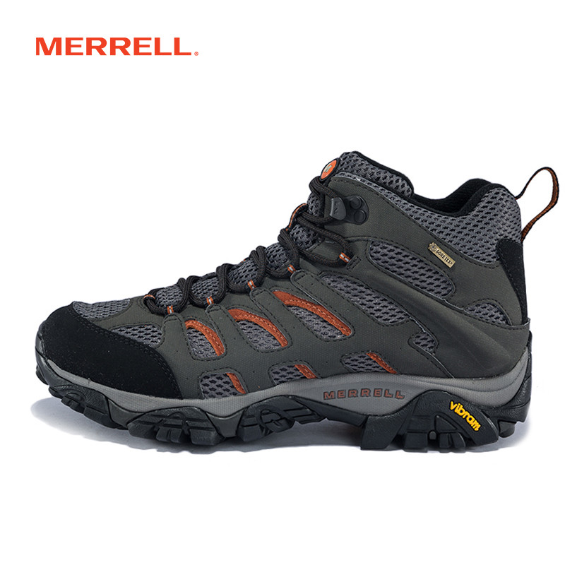 MERRELL迈乐 男鞋户外鞋轻装徒步鞋GORE-TEX防滑耐磨登山鞋J87311